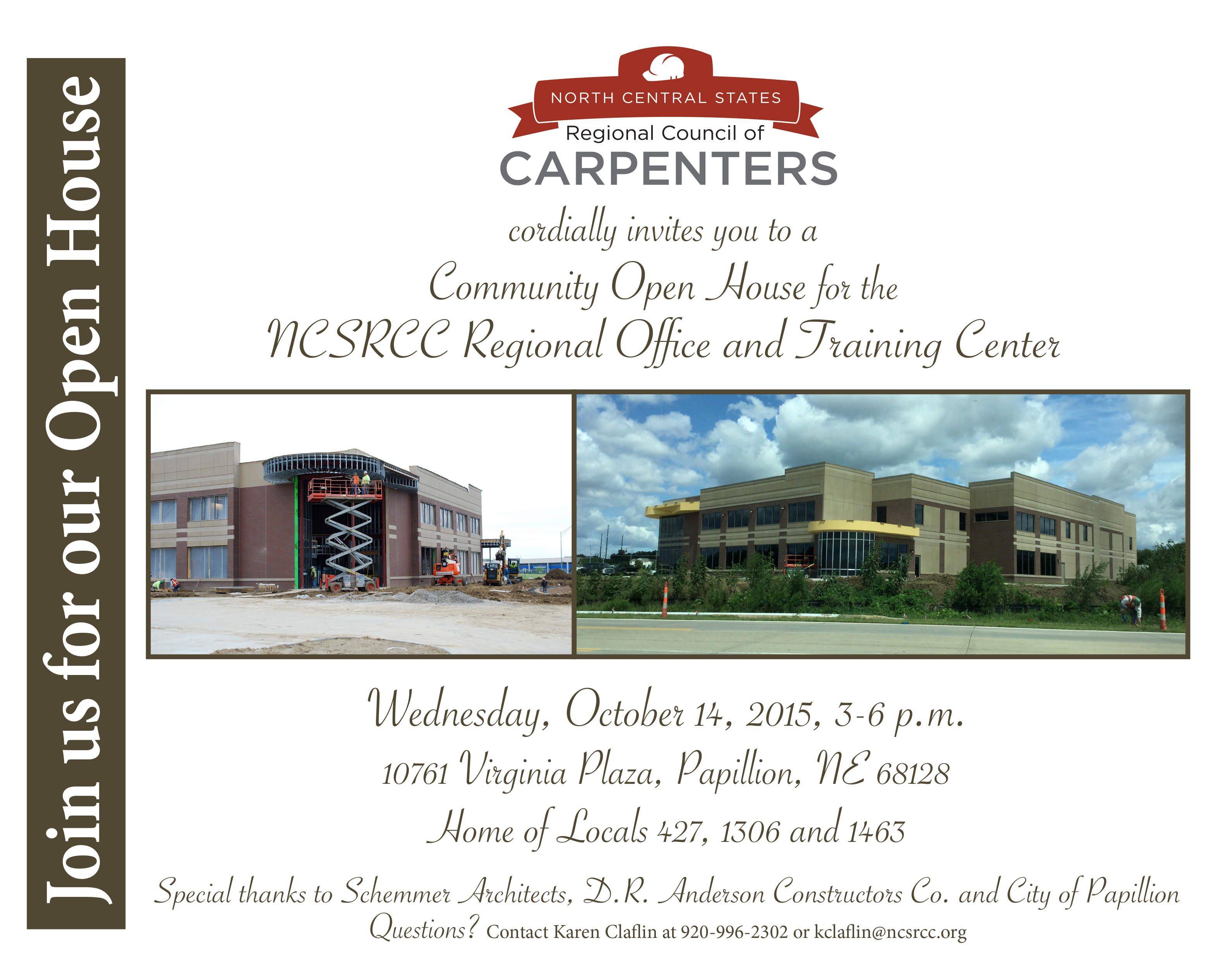 North central states regional council of carpenters invitation to omaha open house invitation stopboris Choice Image